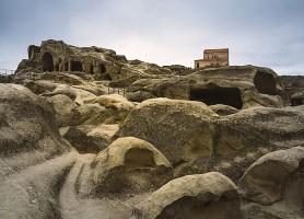 Uplistsikhe: le bunker médiéval géorgien