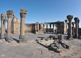 Zvartnots: le sympathique palace antique arménien
