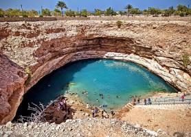 Bimmah Sinkhole: un magnifique site naturel