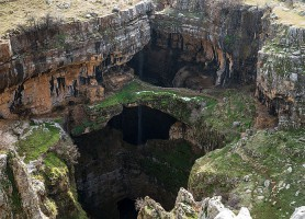 Gouffre de Baatara: une spectaculaire cavité
