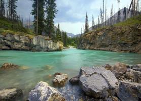 Parc national de Kootenay: le jardin des rêves
