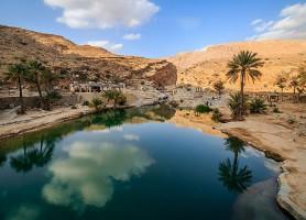 Wadi Bani Khalid: un cours d'eau unique en son genre
