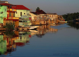 Belize City: l'irrésistible façade bélizienne
