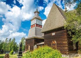 Eglise de Petäjävesi: une remarquable chapelle de pins