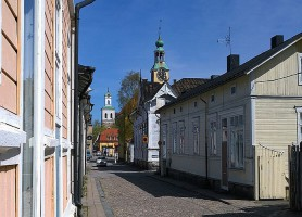Rauma : découvrez cette cité aux superbes maisons en bois