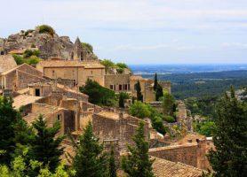 Baux-de-Provence: un des plus beaux villages de la France