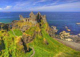 Château de Dunluce: un château pas comme les autres