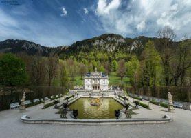Château de Linderhof: une propriété sortie d'un conte de fées