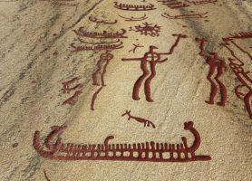 Gravures rupestres de Tanum: l'expression magique de l'art graphique
