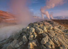 Námafjall: au cœur de la magie des geysers