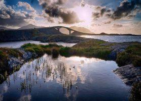 Route de l'Atlantique: une route pittoresque