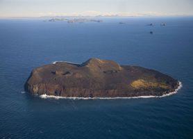 Surtsey: la plus jeune île volcanique de l'Islande