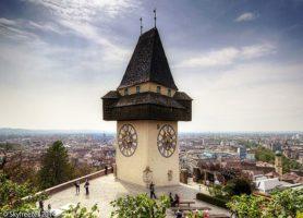 Graz: une impressionnante cité autrichienne