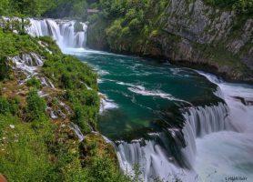 Parc national de l'Una: un cadre naturel magnifique