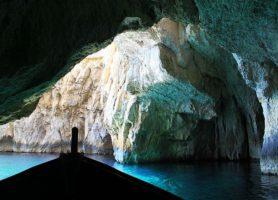 Grotte bleue: l'incroyable beauté de la nature