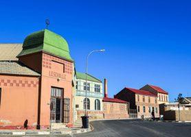 Lüderitz: une partie de l'Allemagne en Afrique